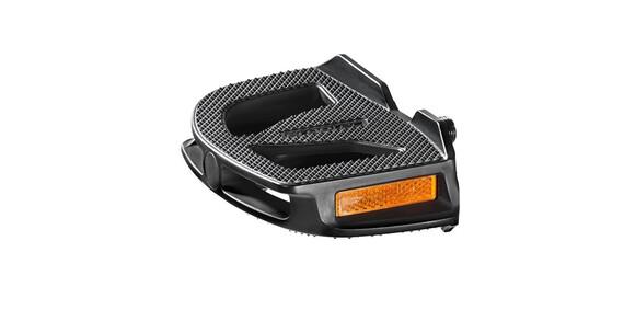 Humpert EP-1 Pedal mit Reflektoren schwarz
